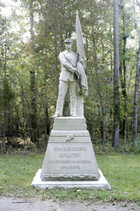 10th Wisconin Infantry Monument.